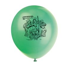 "Teenage Mutant Ninja Turtles 12"" Balloons - Birthday & Theme Party Supplies - 8 per pack SmileMakers http://www.amazon.com/dp/B00EZTKS4A/ref=cm_sw_r_pi_dp_4vr9ub1ZJ04DW"