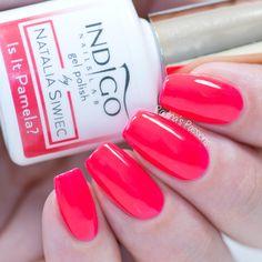 Indigo Nails Miami Collection 2017 - Is It Pamela? Indigo Nails, Indigo Colour, Nail Games, Hot Nails, Beauty Advice, Semi Permanent, Aga, Summer Nails, Gel Polish
