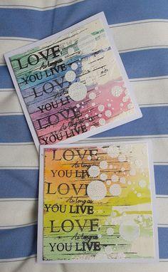 Fasters korthus: Love LOVE love