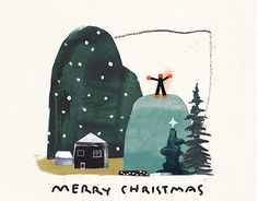 """Check out new work on my @Behance portfolio: """"[personal]Christmas Card"""" http://be.net/gallery/46055447/personalChristmas-Card"""