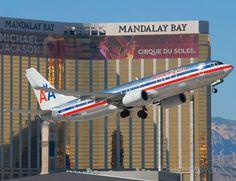 Boeing 737-800 (N884NN) Took this photo from the airport's economy parking lot. Las Vegas 14 of N884NN 15778 of B738 2825 at KLAS
