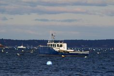 Lobster Boat - Marblehead Harbor