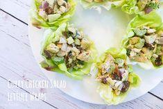Curry Chicken Salad Cups (sub greek yogurt for mayo)