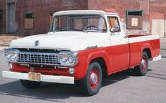 58 ford truck | 1958 Styleside Ford F-Series pickup truck