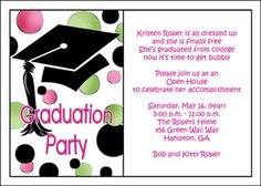 82 best graduation party open house invitations images on pinterest exciting high school graduation party theme ideas for seasons in the sun theme filmwisefo