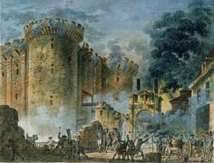 Jean-Pierre-Louis-Laurent Houel - The Taking of the Bastille, 14th July 1789