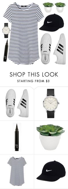 """""""#75"""" by iamariot7 ❤ liked on Polyvore featuring adidas, Torre & Tagus and NIKE"""