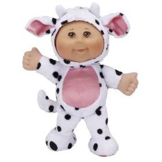 Cabbage Patch Cuties Cow - Toys 4 My Kids Childrens Gifts, Toddler Gifts, Cow Toys, Cabbage Patch Kids Dolls, Christmas Gifts For Kids, Christmas Stuff, Animal Fashion, Pretty Dolls, Doll Accessories