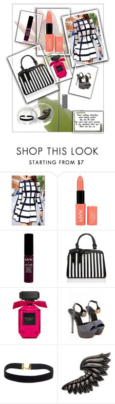 """""""#176"""" by roxanneholabird ❤ liked on Polyvore featuring NYX and Roberto Cavalli"""