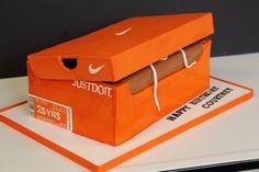 Nike shoebox birthday | Blue Note Bakery - Austin, Texas