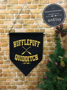 Put your House spirit on display with Quidditch banners. | 29 Products That Will Transfigure Your Home Into Hogwarts