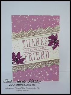 Stampin' Sacha - Stampin' Up! - Spring-Summer Catalogue 2017 - Sale-A-Bration - Window Shopping - Avant-Garden - Delicate Details - Very Vanilla - Rich Razzleberry - Sweet Sugarplum - Playful Palette DSP - Copper Emboss Powder - #stampin_sacha - #stampinup - #SAB2017