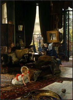 Hide and Seek, James Tissot (1880-1882).