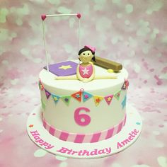 Gymnastics cake!