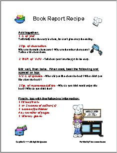 Book Review Template Differentiated pdf   Google Drive Pinterest