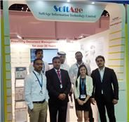 #Softage Launched a Cloud Based DMS Solution-Clouddocu at 35th GITEX Technology Week in Dubai