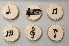 cookies notas musicales - Buscar con Google