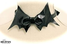 Bat Bow Choker from Victoria Lovelace on Storenvy