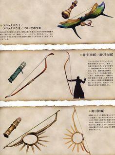 怪物猎人-武器设计