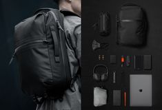 Black Ember Shadow Backpack Edc Essentials, Everyday Carry Items, Stylish Jackets, Motorcycle Outfit, Mans World, Briefcase, Luggage Bags, Winter Jackets, Backpacks