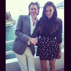 John Taylor and his daughter, Atlanta.  So cute together. She looks so much like him it's scary. That's a good thing. LOL