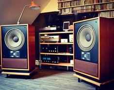 Awesome sound !!! #listen #tannoy #tannoyberkeley #speakers #vintage #audio #hifivintage