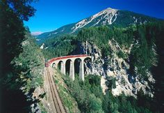 The Landwasser Viaduct - Switzerland-Most Amazing Train Railways