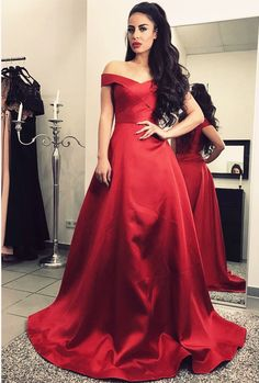 Off Shoulder Prom Dress,Long Evening Gowns,,Burgundy Prom Dress,Burgundy Bridesmaid Dress
