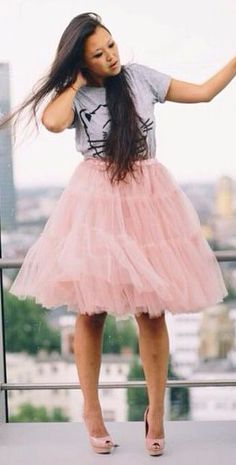 pink tulle skirt  http://rstyle.me/n/iprqrpdpe