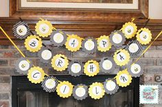 Bumblebee Themed Birthday Party