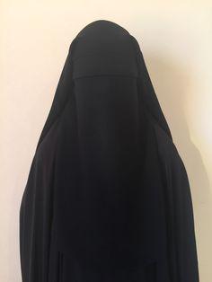 Layered Elegance Niqaab by BaneeAsadillah on Etsy