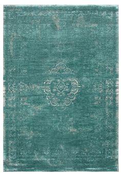 Vintage-Teppich   -mint sand-   Orientteppich Orient 4258 Farbe - Bild vergrößern