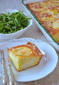 Cucchiaio pieno - yoga e receitas saudáveis vegetarianas e vegana! Com passo-a-passo e fotografia.: Torta de couve-flor com curry e amêndoa