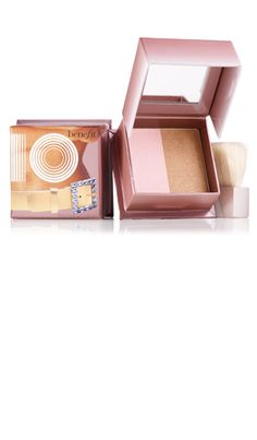 Benefit Cosmetics 10. Seriously the best and my favorite highlight & bronzer (in one) ever. Smells amazing too!