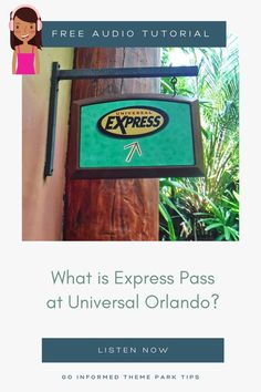 Express Pass is a unique option for guests at the Universal theme parks. Find out how it works, what it costs, and whether you need an Express Pass for your Universal Orlando vacation. Listen now at GoInformed.net/33