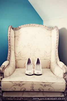 Beautiful Wedding Shoes by Jay Cimagery