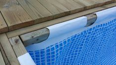 Hanging a rectangular Intex Ultra Frame Pool directly from the pool deck | Trouble Free Pool