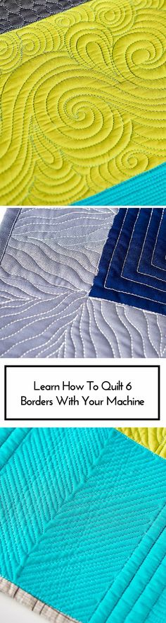 How To Quilt Any Border With Confidence: Online Craftsy Class with Angela Walters