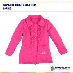 Tapado para nena de Barbie. Para conocer talles, colores y comprar ¡Hacé click en la imagen!