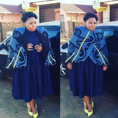 Traditional South African Dresses 2019 - style you 7 South African Dresses, South African Fashion, African Fashion Designers, African Print Dresses, African Print Fashion, African Attire, African Wear, African Fashion Dresses, African Women