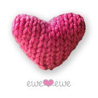Ewe Ewe Heart Heart {free knitting pattern}