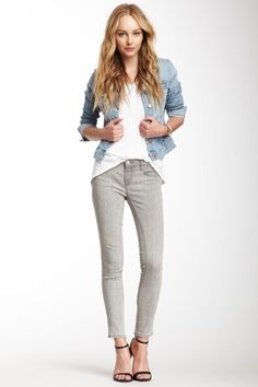 J Brand Engineered Skinny Jean by Non Specific on @HauteLook