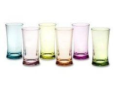 pretty water glass