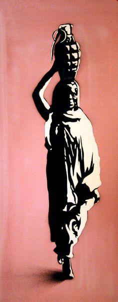 African Woman   Martin Whatson