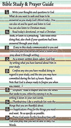 ArtiDSGN: Printables: Bible Study and Prayer Schedule More