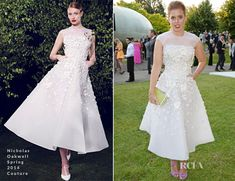 Princess Beatrice In Nicholas Oakwell Couture - The Serpentine Gallery Summer Party
