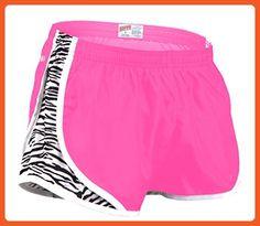 Soffe Girls Printed Team Shorty Shorts, Pink Lemonade/Zebra, Small - Flats for women (*Amazon Partner-Link)