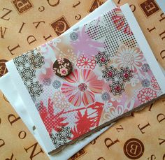 Handmade 5x7 Blank on the inside Greeting Card by ScrippsStyle