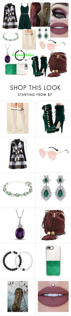 """""""Evergreen"""" by beautiful-moon-stained-eyes ❤ liked on Polyvore featuring WithChic, Alex and Ani, CARAT* London, See by Chloé, Lokai and Casetify"""