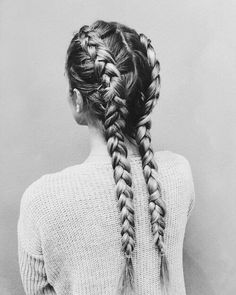 grafika hair, girl, and braid
